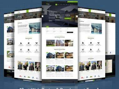 I will create Web Layout Design & Development
