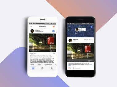 Social network application