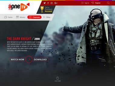 ApneTv Logo And Website