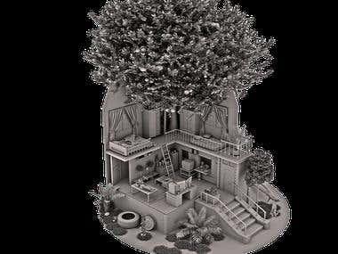 3D MODELING/SCULPTING