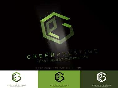 GREEN PRESTIGE - LOGO DESIGN + DOMAIN NAME