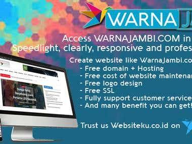 Online News Portal (Wordpress)