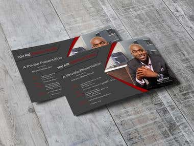 Business cards and Postcard design