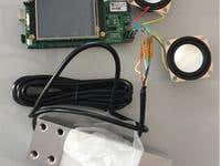 Project with Loadcell, BLE speaker, LCD