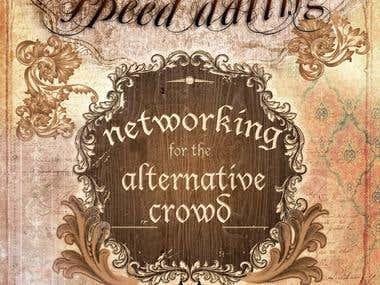 Bohemian Speed Dating Flyer/Web Logo Design/Branding