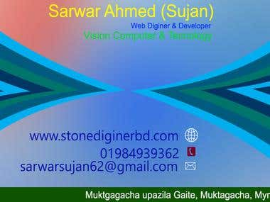 Graphic and Visiting Card maker.