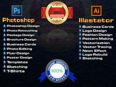 Photoshop And Illustration Design