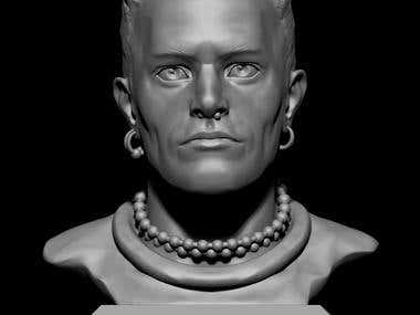 Keith Flint portrait