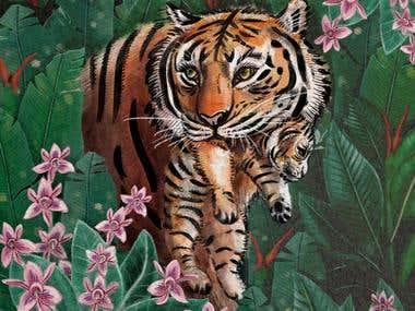 Animals (Watercolours)