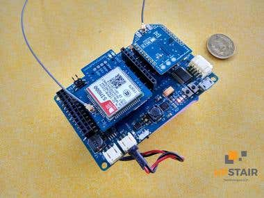 Multi connectivity IOT Sensor board
