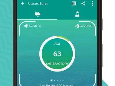 """Prkruti Air"" Outdoor Air quality monitoring platform"