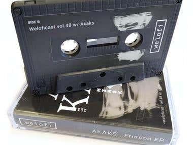 Album cover design / Tape cover design