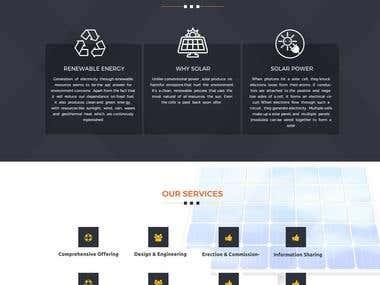 Solar Energy website