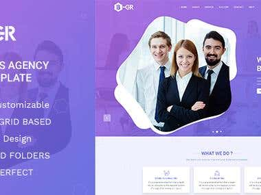 Business Creative PSD Template