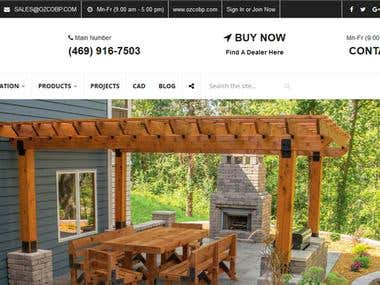 OZCO Building Products - WORDPRESS
