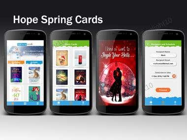 ECard Sending App (Image Customization, Email Customization)