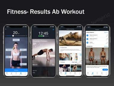 Fitness/Workout App