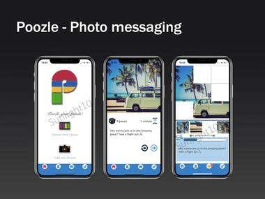 Photo Messaging / Poozle App
