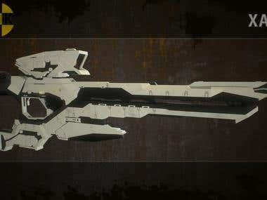3D Weapons Artist