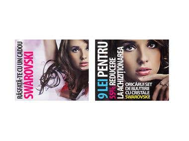 Beauty salon and others - banners set 2 (5 pics)