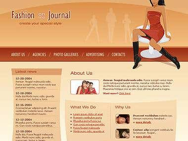 Fashion on journal