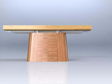 Covertible coffee table