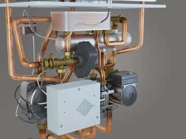 3D Commercial Video (Murino Gas Boiler)