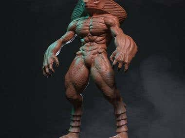 Character Sculpting in Mudbox