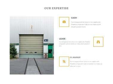 Electronics Website