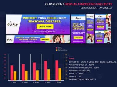 Display Marketing projects