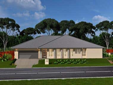 3d australian home