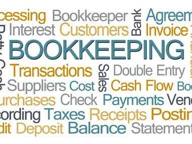 Bookkeeping of your organization