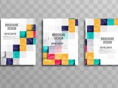brochure template-set.