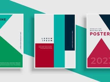 cover design template .