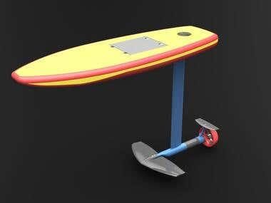 E-Foil Board (Surfboard)