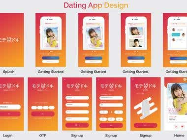 Dating apps and website.