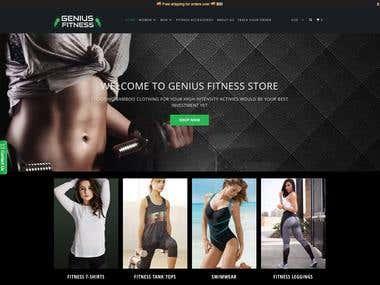 Premium Fitness Shopify Store