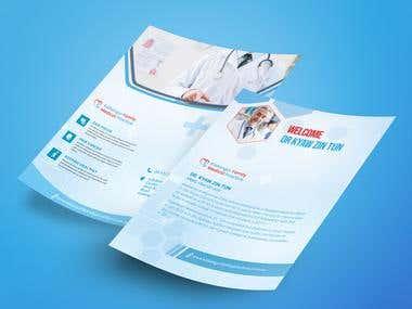 Medical Flyer design
