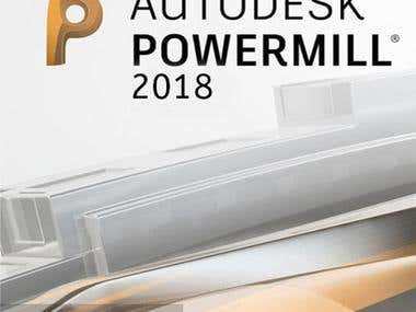 - CAD/CAM using powermill