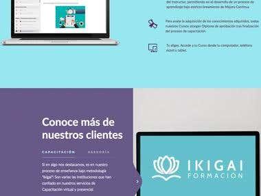 web y logo centro educativo online
