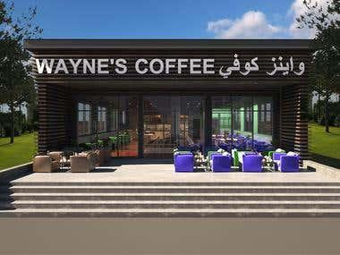 Coffe Shop interior design