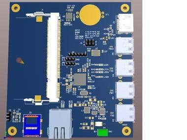 Raspberry Pi 3 computer module CM3+