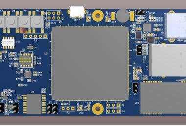 Gateway development using MCU module ATSAMA5D27-SOM1