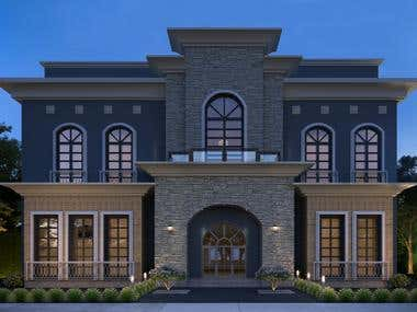 Design Villa Elevation