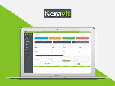 KeraVitrified - CRM system