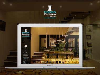 Haresh Parsana - personal website