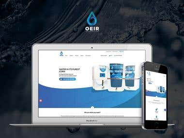 OEIR - PSD to Html design