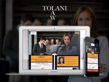 Tolani Law - Reshma tolani personal website