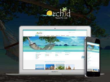 Orchid Travel Website and CRM