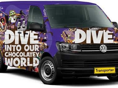 vehicle Ad design